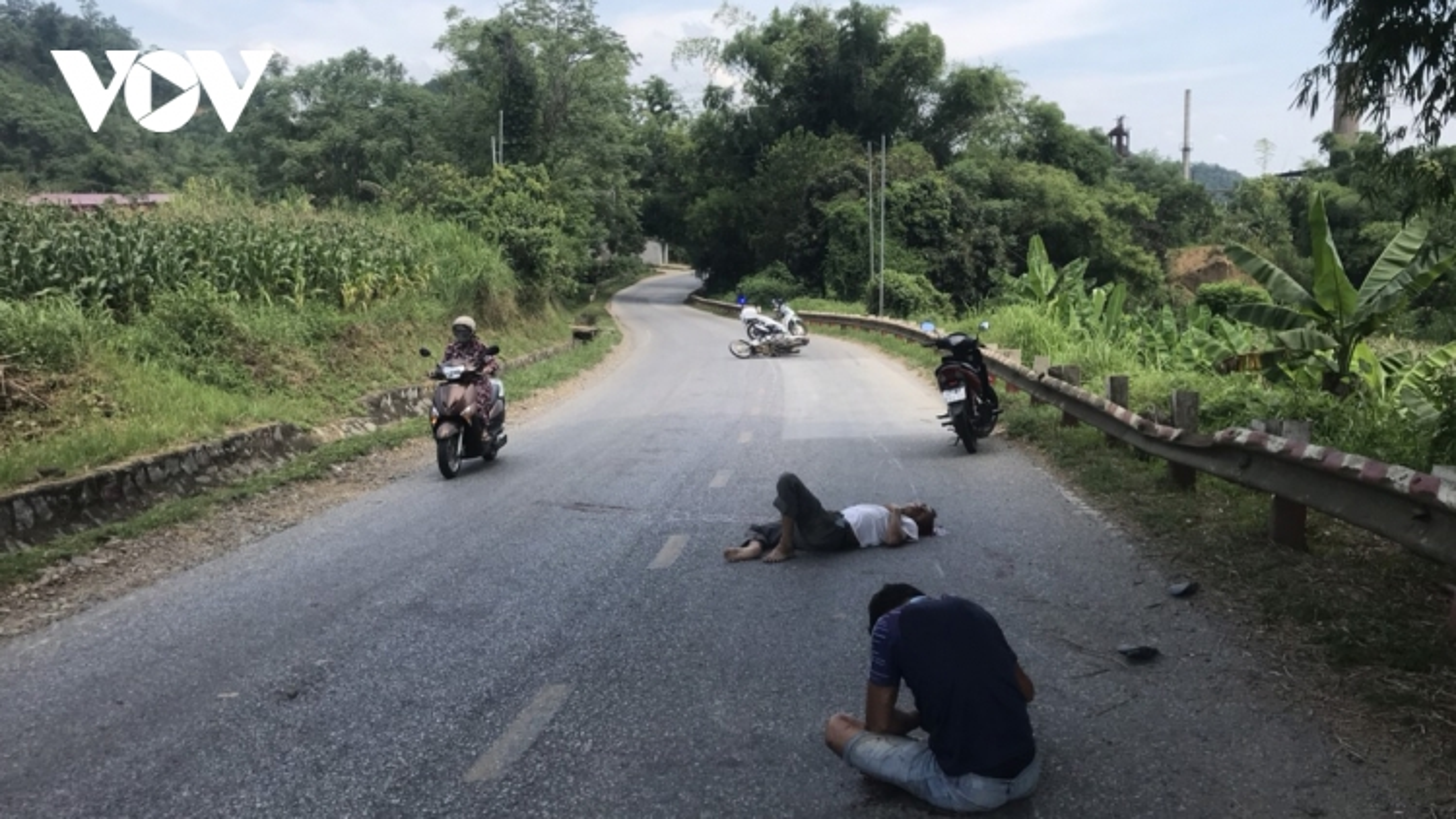2 người bị thương nặng trên quốc lộ 3