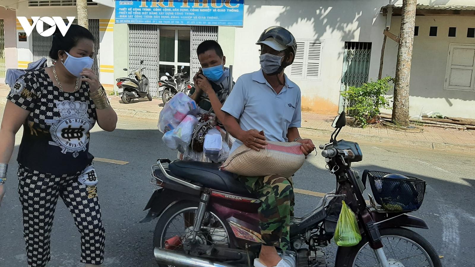 Hành động ấm lòng ở Tiền Giang giữa cơn đại dịch