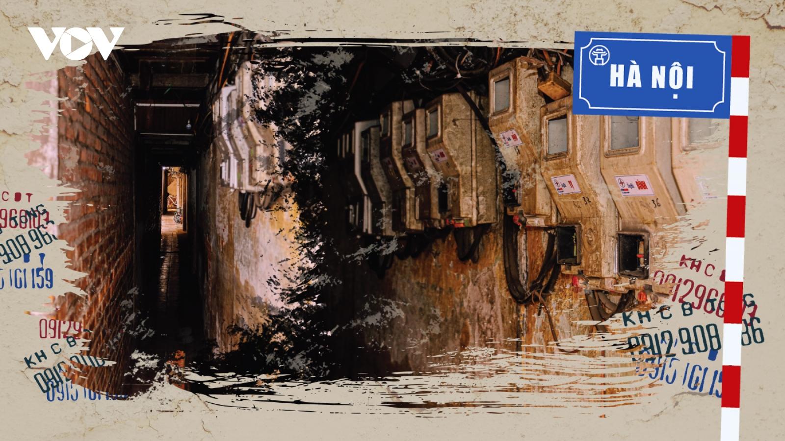 Những con ngõ ẩn nấp giữa lòng phố cổ - đặc trưng của Hà Nội