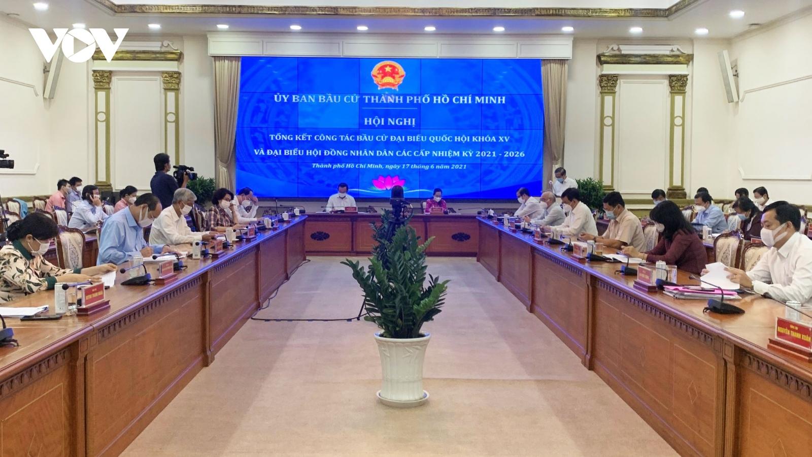 15 đại biểu Quốc hội thuộc đoàn TP.HCM tái cử