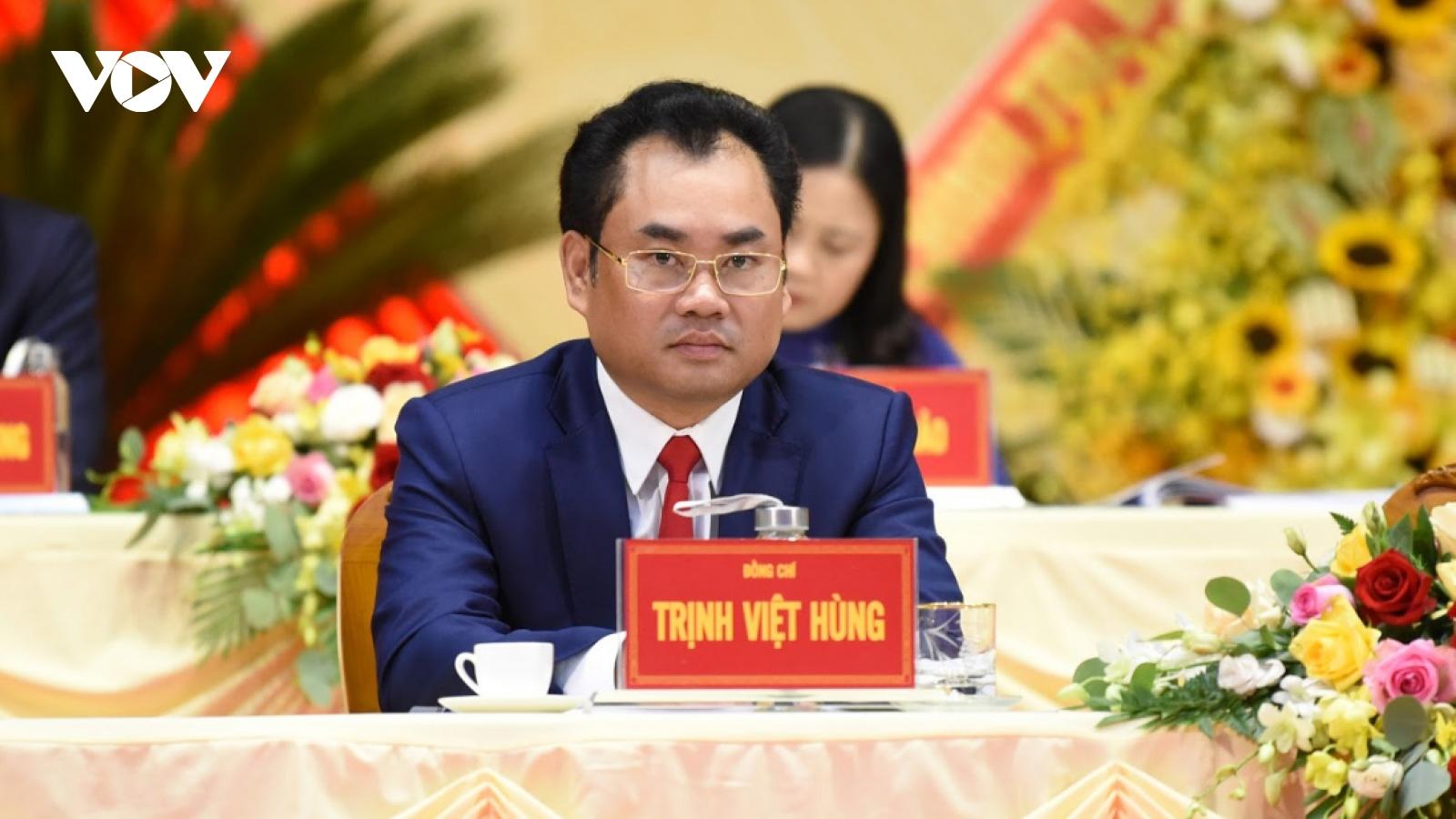 Ông Trịnh Việt Hùng tiếp tục được bầu giữ chức Chủ tịch tỉnh Thái Nguyên