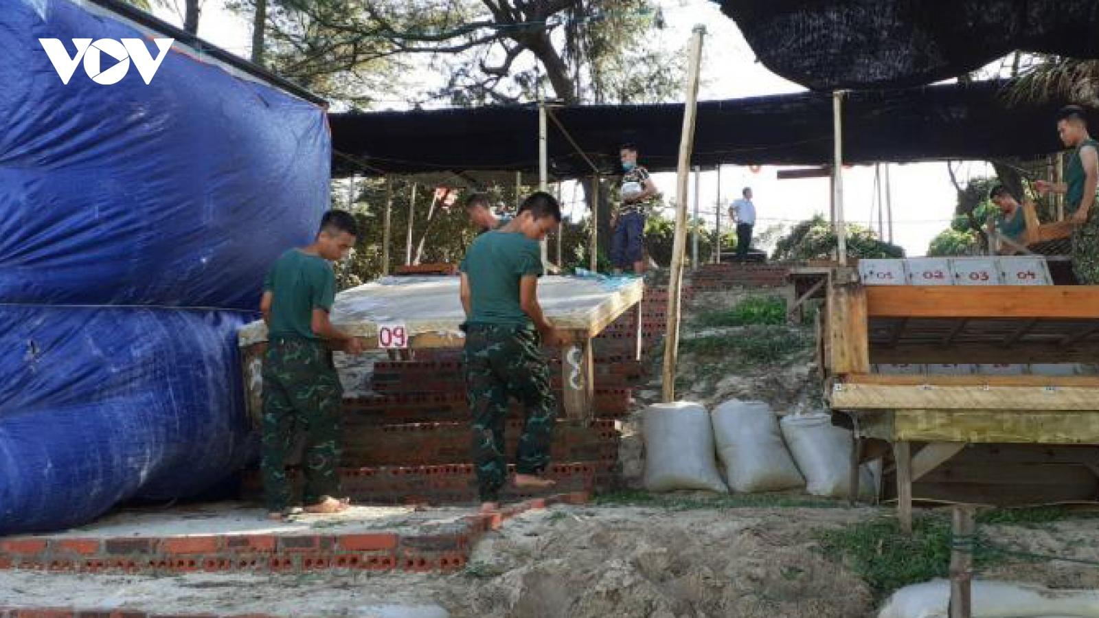 Bão số 2 gây mưa và gió mạnhtại Quảng Ninh
