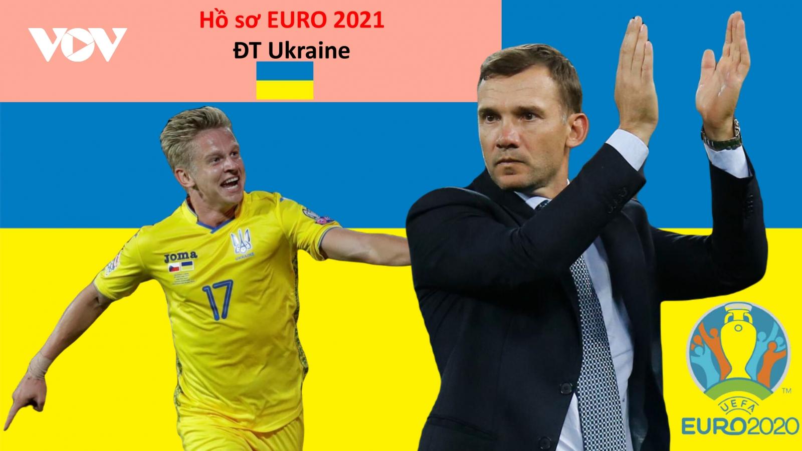 Hồ sơ các ĐT dự EURO 2021: Đội tuyển Ukraine