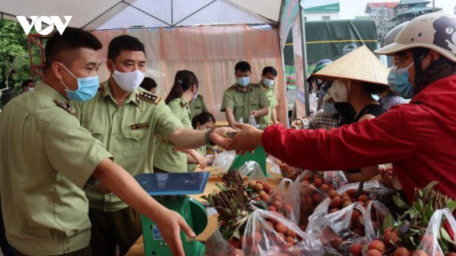 Lạng Sơn hỗ trợ nông dân tiêu thụ nông sản