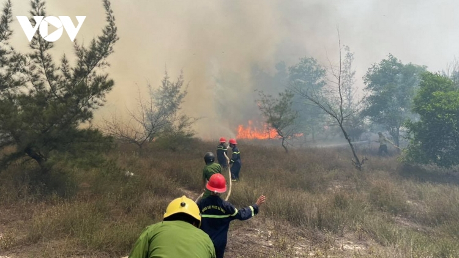 Nắng nóng đe doạ gây cháy rừng dữ dội ở miền Trung