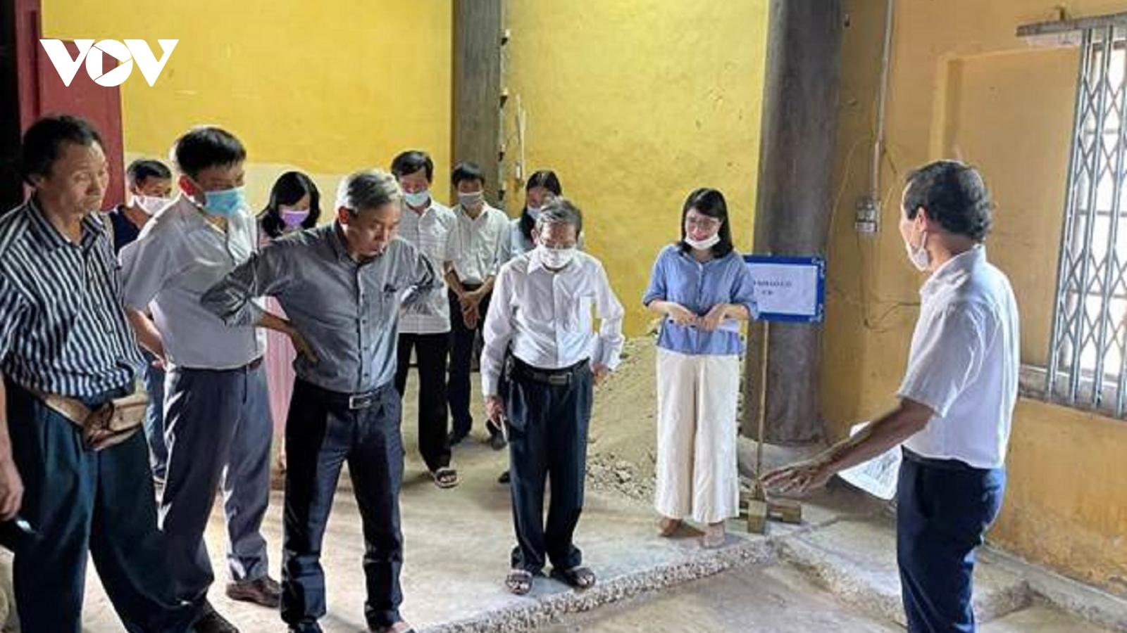 Xuất lộ nhiều dấu tích quan trọng tại Điện Thái Hòa