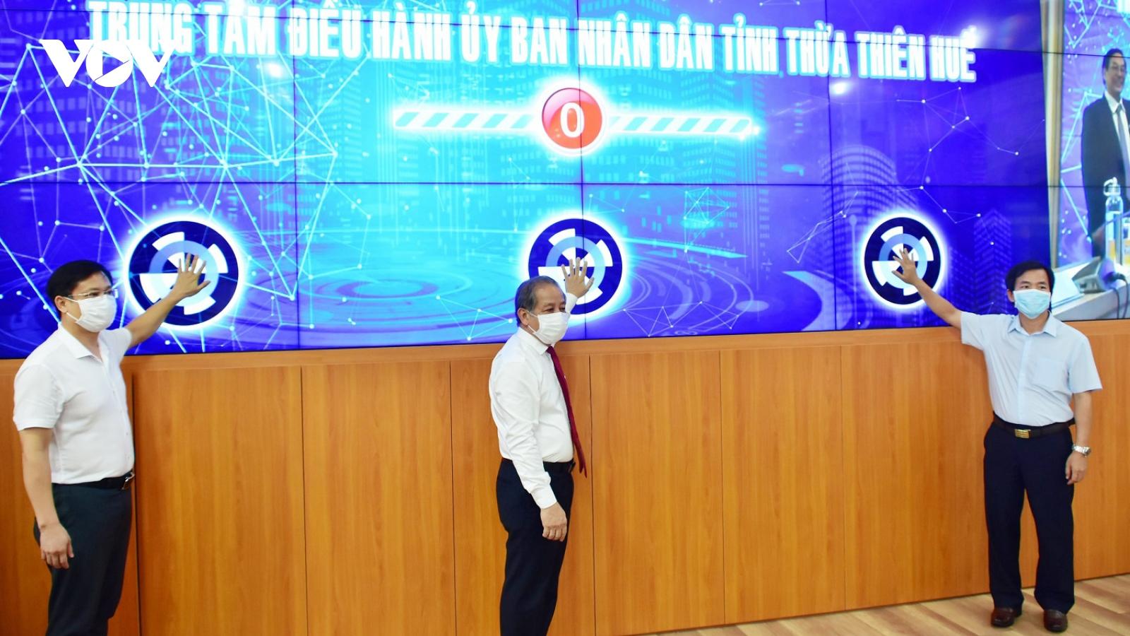 3 trụ cột trong phát triển chính quyền số ở Thừa Thiên Huế