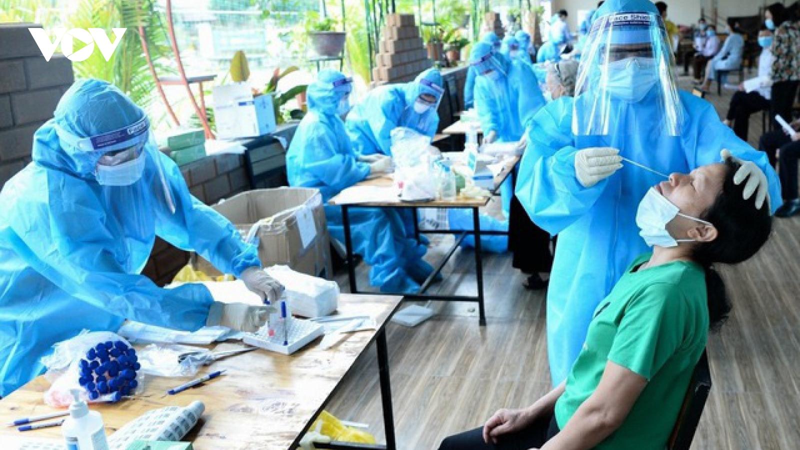6 giờ qua, Việt Nam có thêm 121 ca mắc COVID-19, TP.HCM nhiều nhất 59 ca