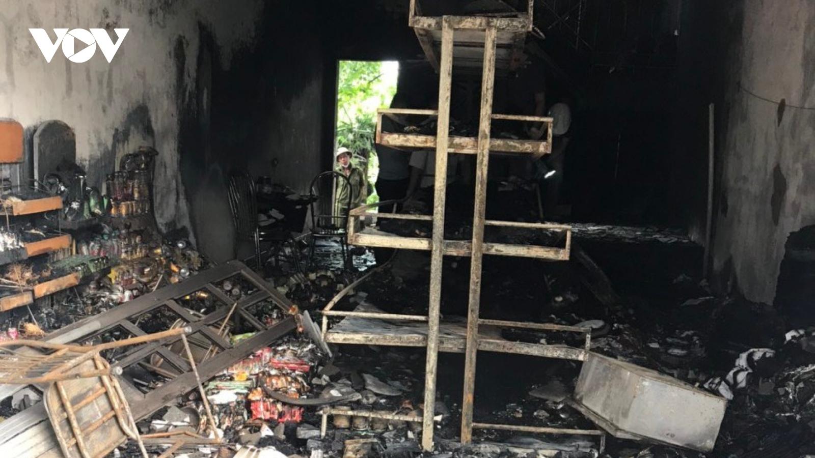 Có dấu hiệu án mạng trong vụ hỏa hoạn tại Hải Phòng