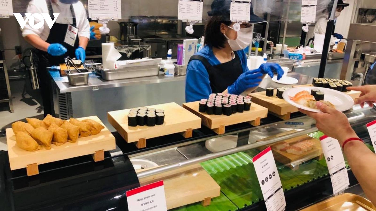 Một số Đoàn Thể thao ở Olympic Tokyo 2020 tự lo các bữa ăn cho VĐV