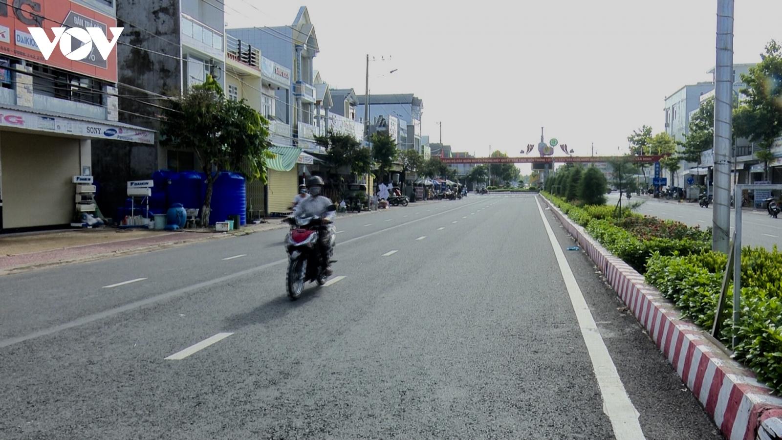 Ngày đầu tiên thực hiện Chỉ thị 16, người dân ĐBSCL hạn chế ra đường