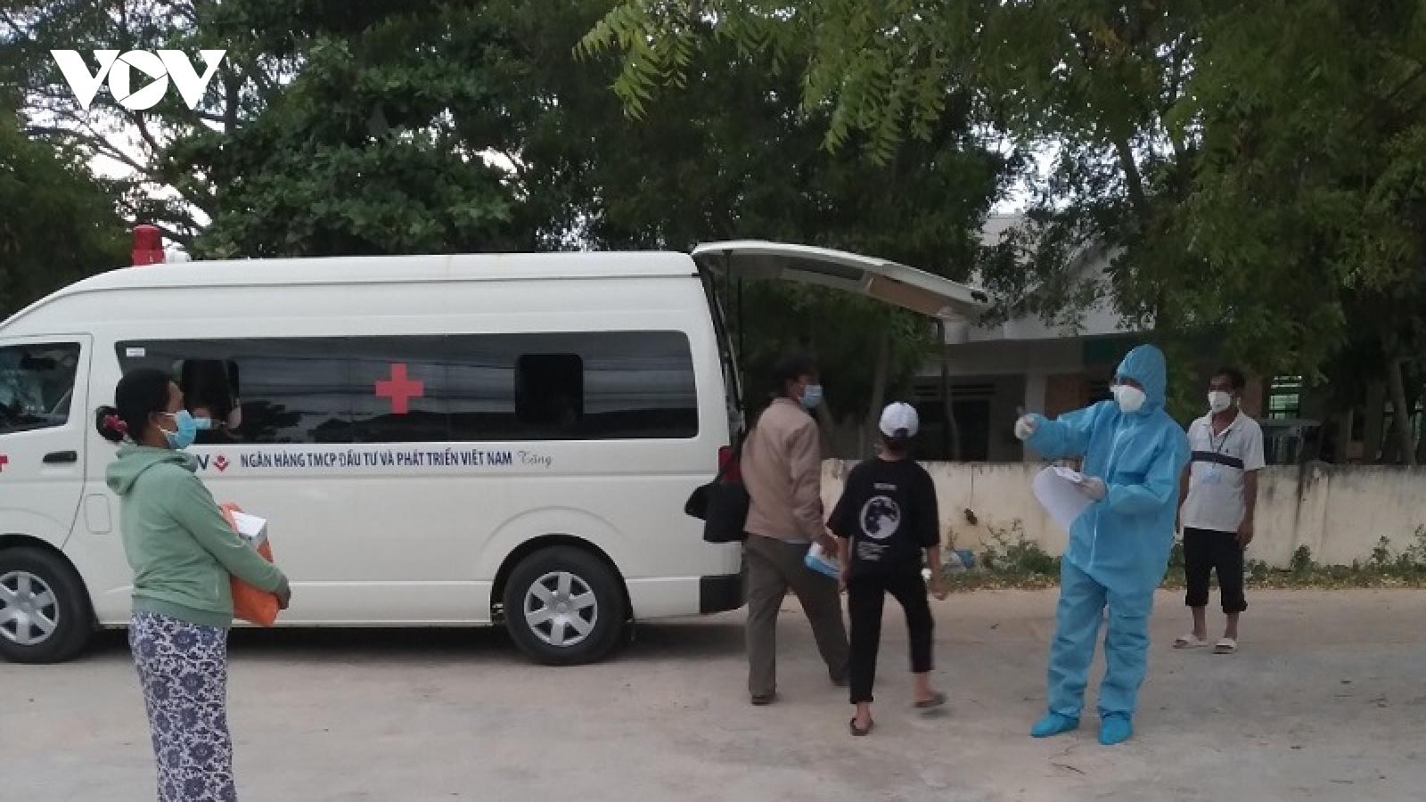 Ninh Thuận có thêm 7 ca mắc Covid-19 mới