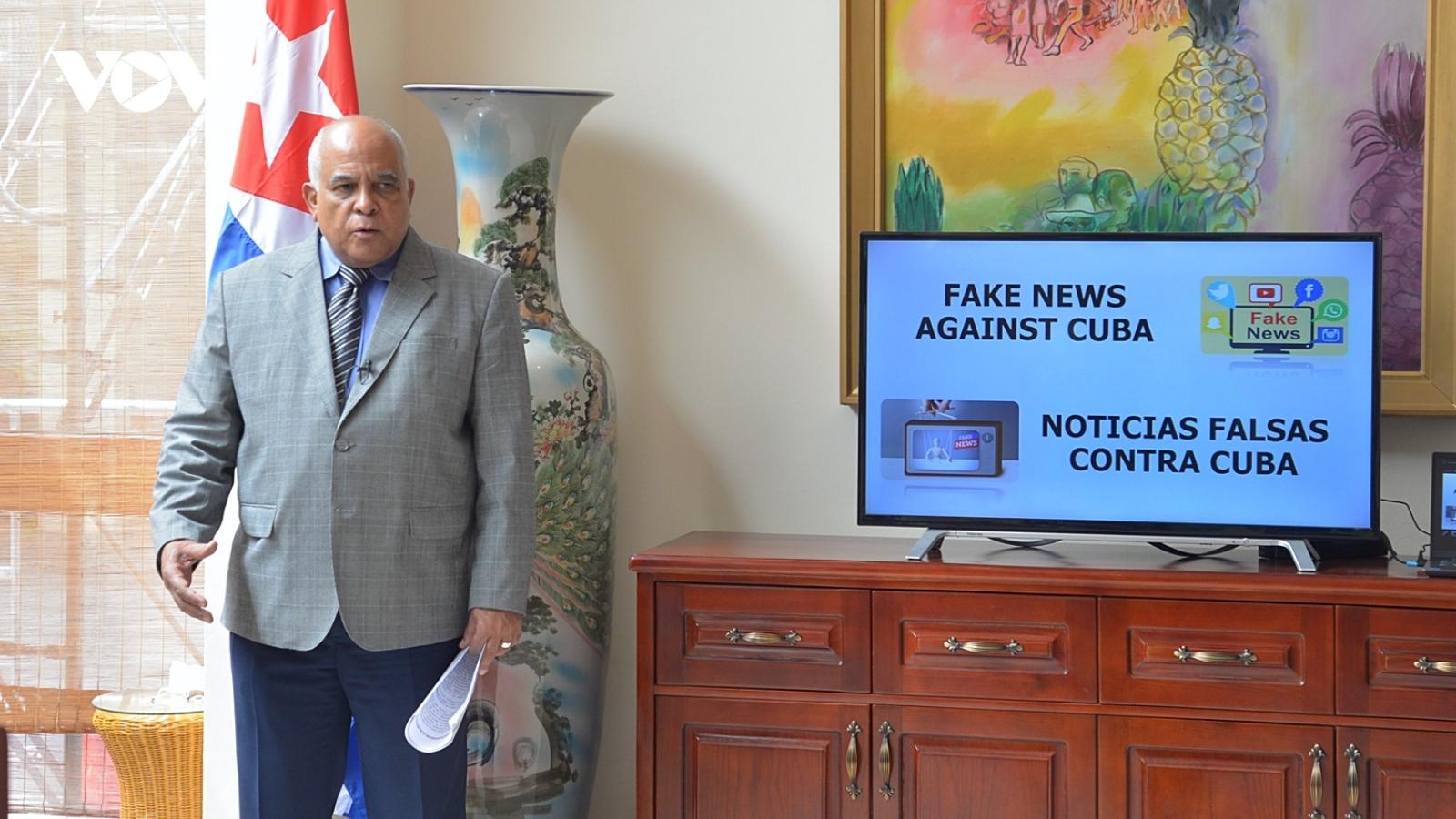 """Đại sứ Cuba khẳng định âm mưu phá hoại Cuba """"11/7"""" đã thất bại nhưng cần phải làm sáng tỏ"""