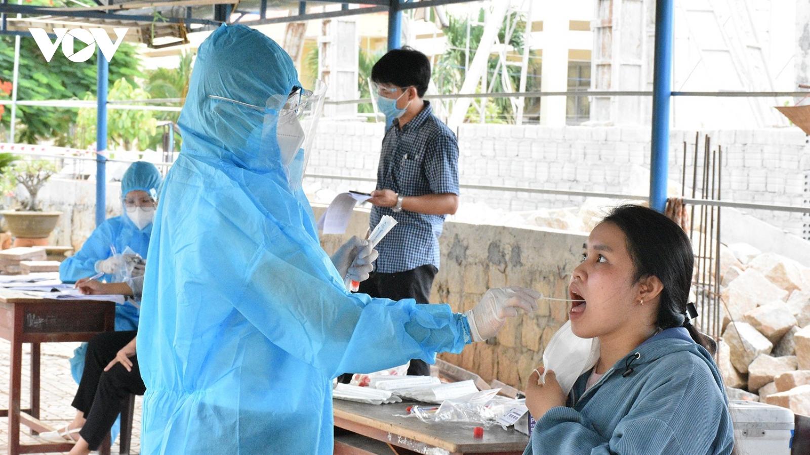 Bình Định tiếp tục giãn cách xã hội thị xã An Nhơn