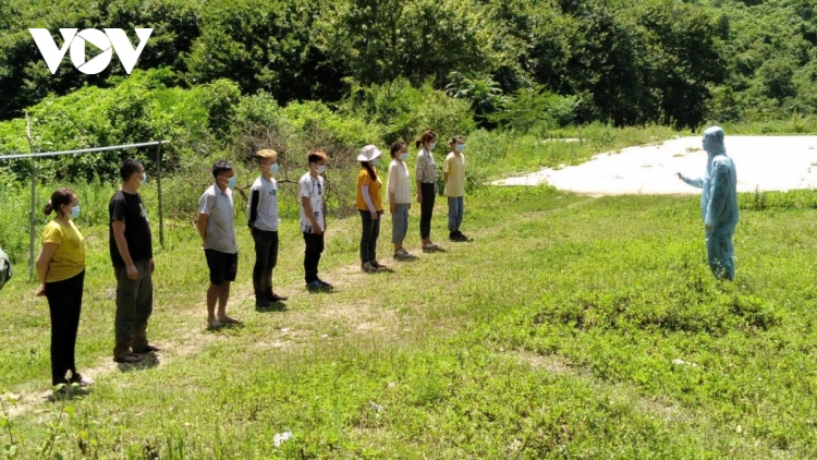 13 illegal entrants from China detained in Cao Bang