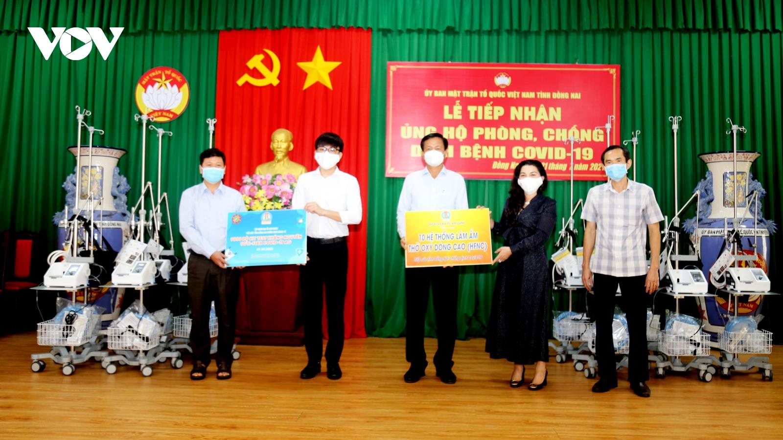Tập đoàn Kim Oanh tặng 30 máy thở cho Đồng Nai, Bình Dương và TP.HCM