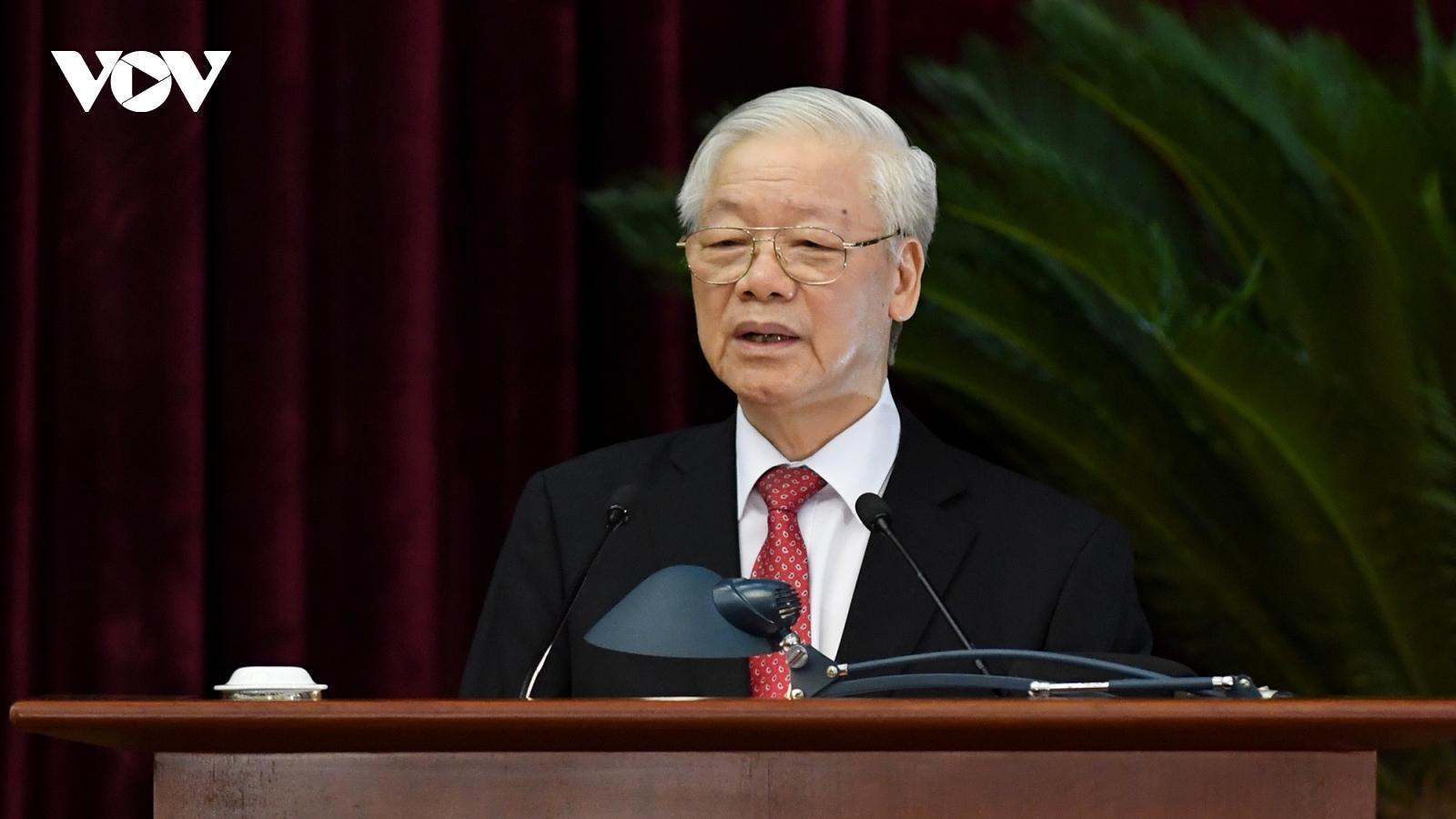 Toàn văn phát biểu bế mạc Hội nghị Trung ương 3 của Tổng Bí thư Nguyễn Phú Trọng