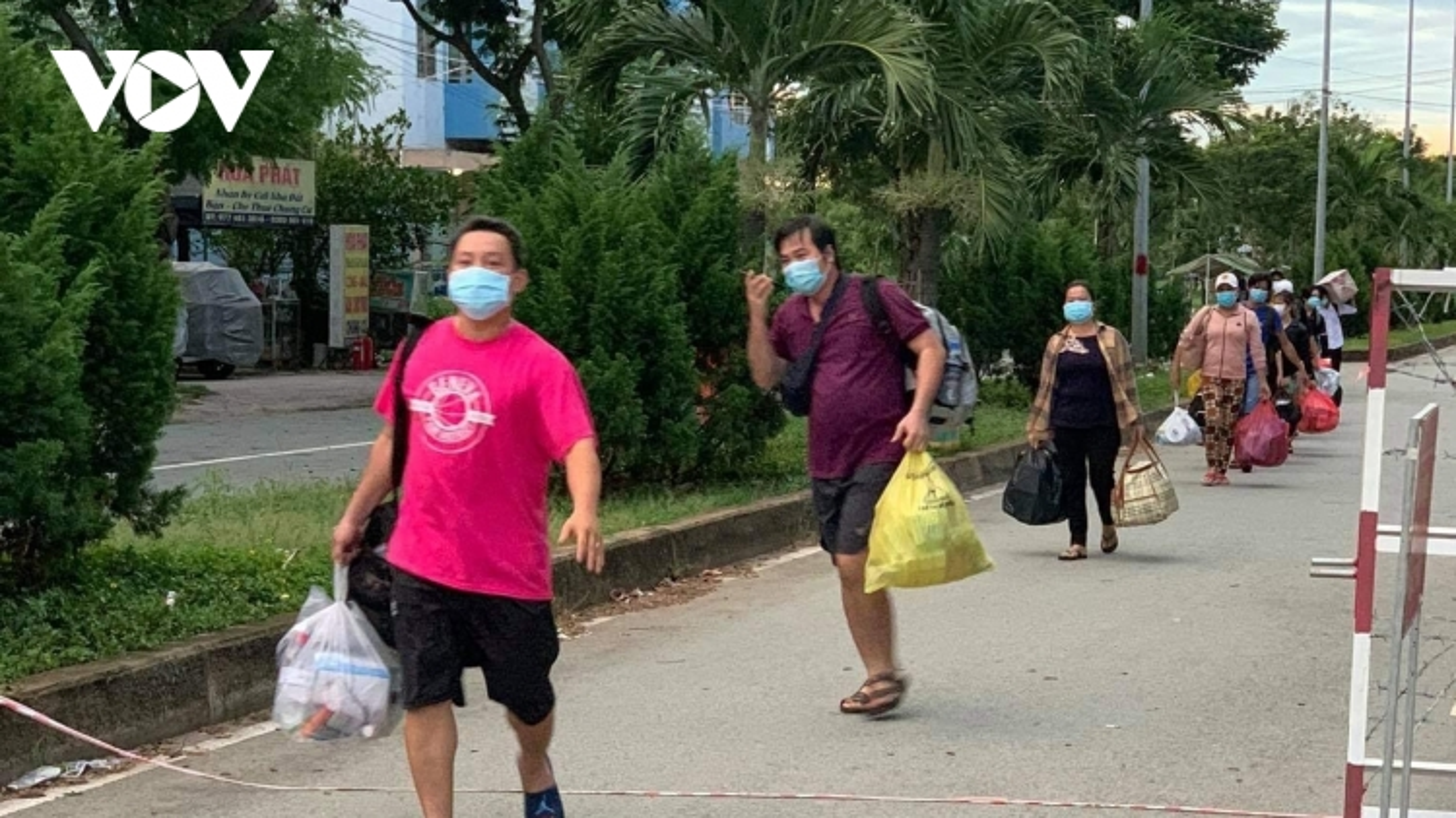 730 bệnh nhân Covid-19 ở Bệnh viện Dã chiến số 8 của TP.HCM được xuất viện