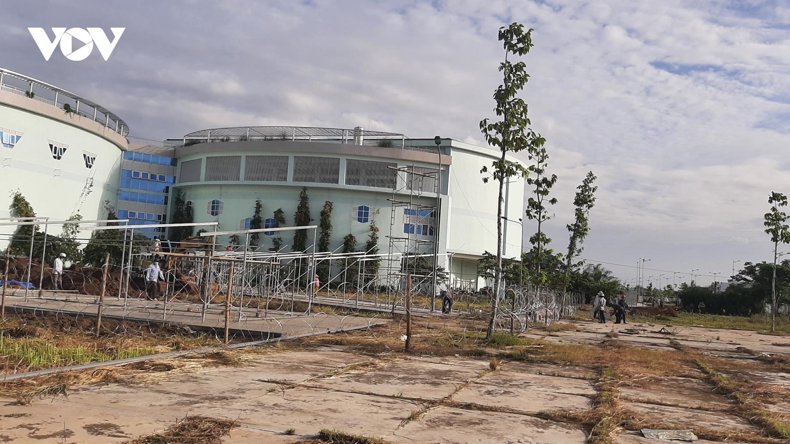 Tiền Giang lập bệnh viện dã chiến 1.000 giường điều trị bệnh nhân tại các khu công nghiệp