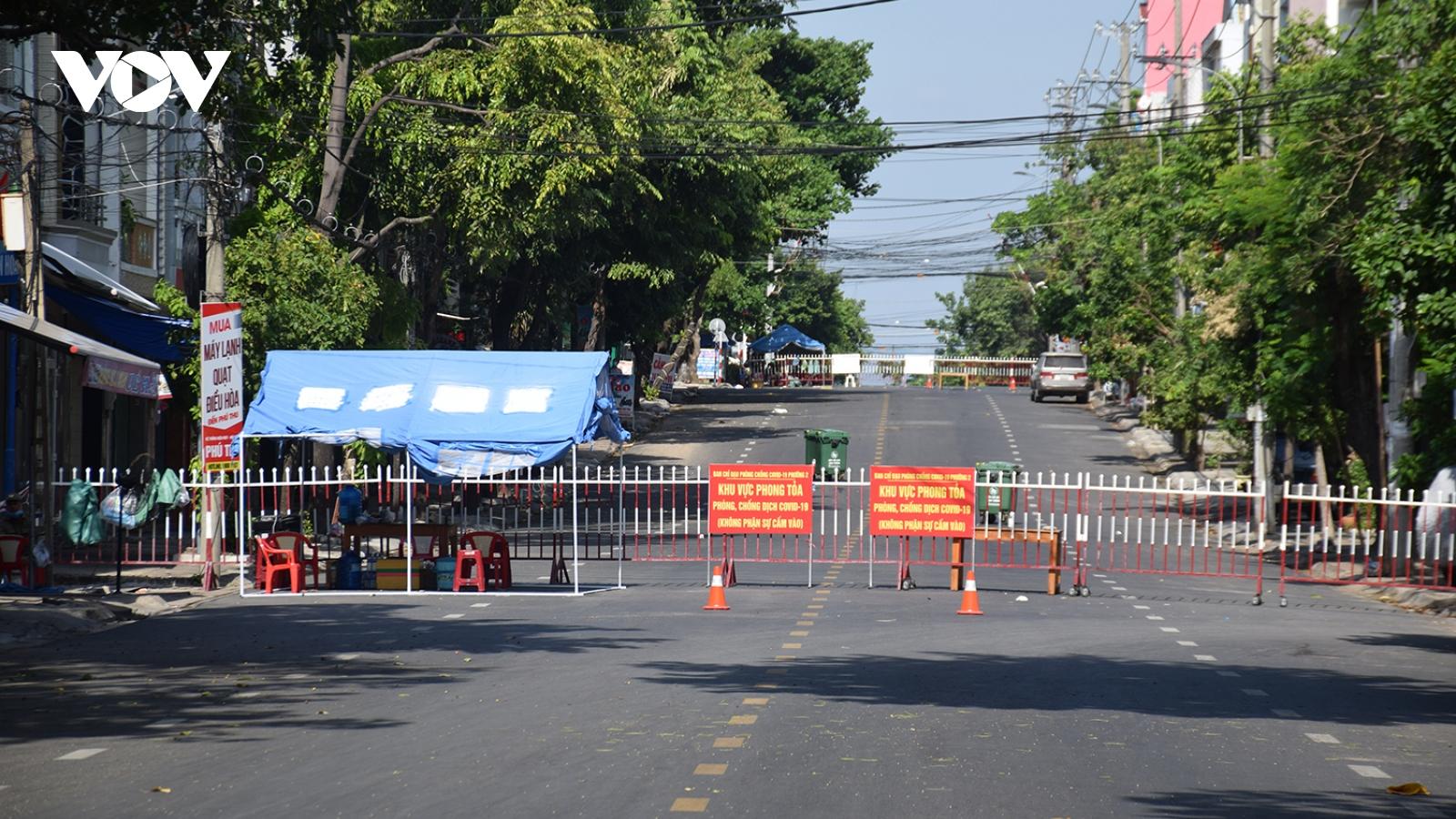 Phú Yên dỡ bỏ 5 khu vực bị phong tỏa