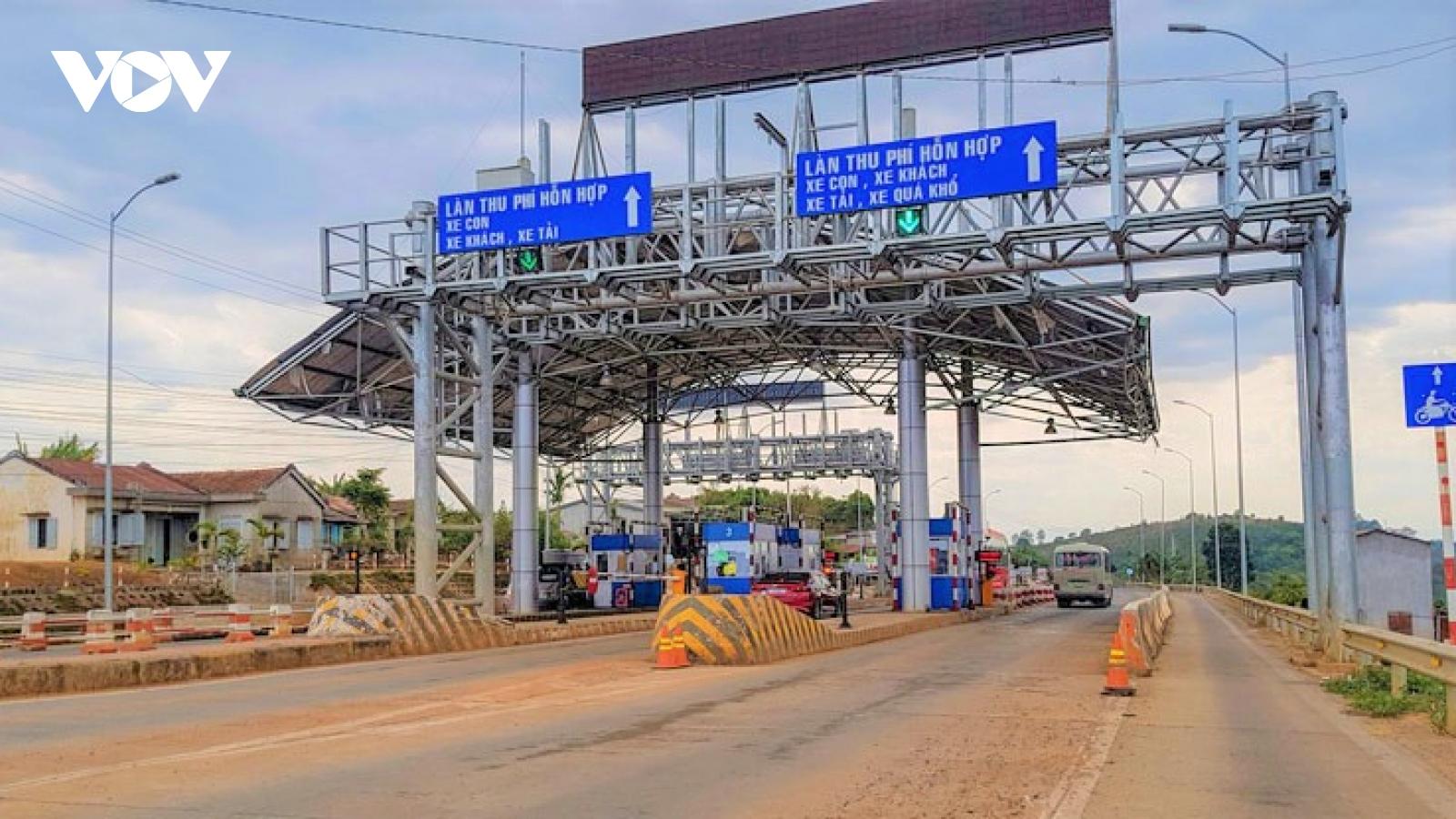 Trạm BOT Liên Đầm (Lâm Đồng) vẫn hoạt động thu phí vì không nằm trong vùng dịch