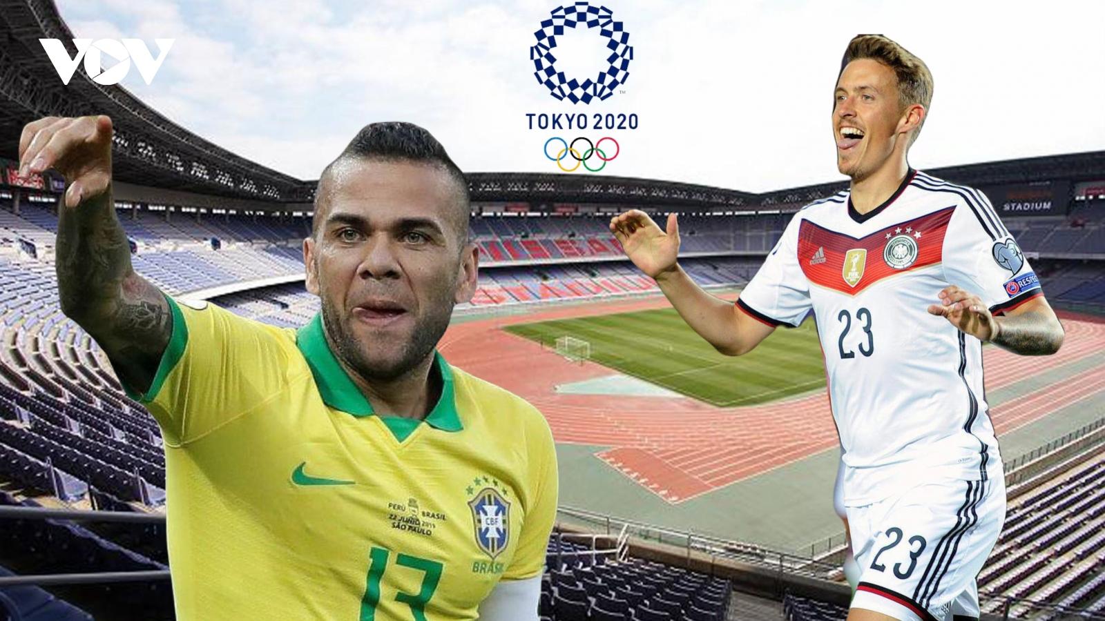 Dự đoán kết quả, đội hình xuất phát trận Olympic Brazil - Olympic Đức
