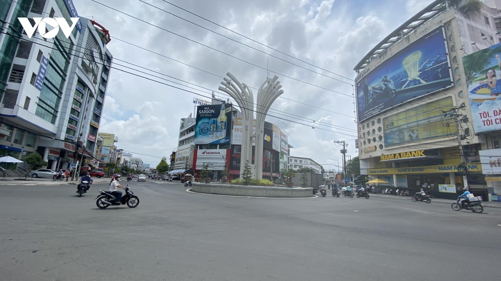 Nhiều tỉnh thành Đồng bằng Sông Cửu Longáp dụng chỉ thị 16 để phòng chống dịch bệnh