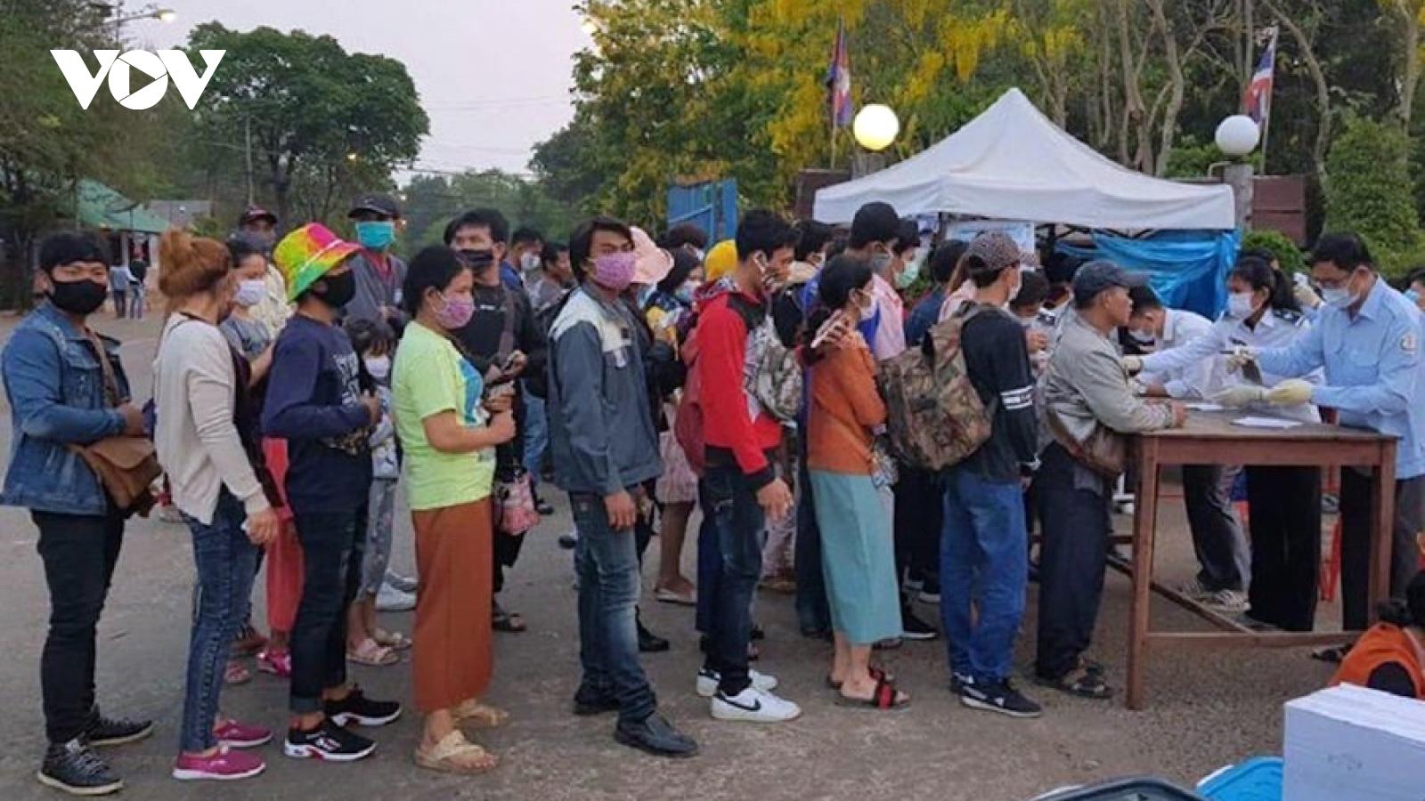Thách thức lớn của Campuchia trong công tác phòng chống dịch Covid-19