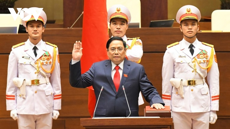Pham Minh Chinh sworn in as Vietnamese Prime Minister