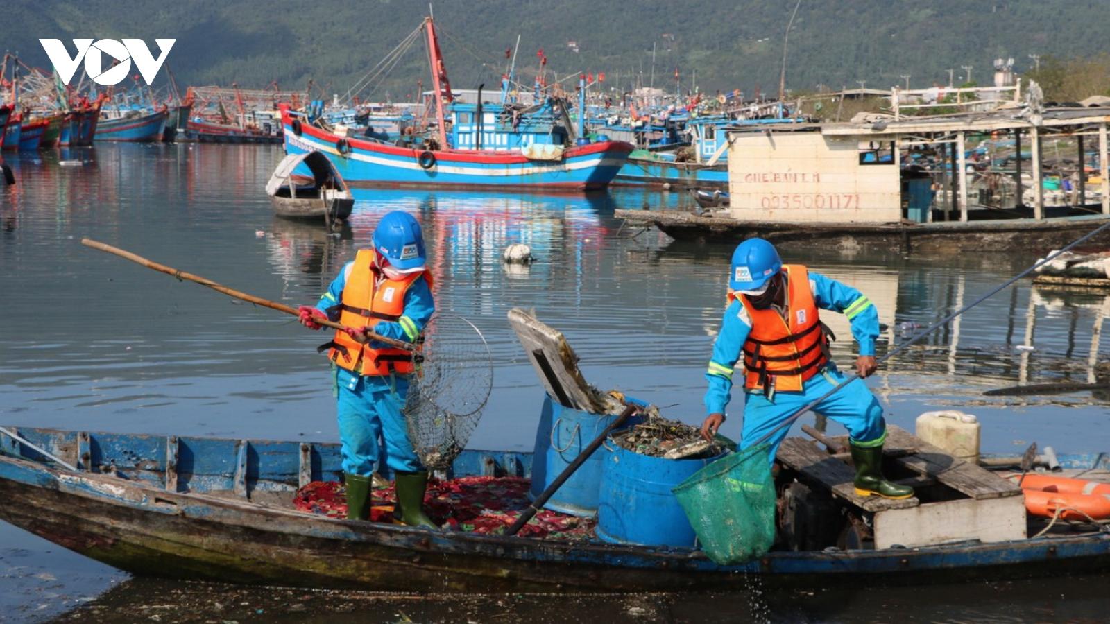 Đà Nẵng sử dụng hình ảnh camera xử phạt xả thải tại âu thuyền Thọ Quang