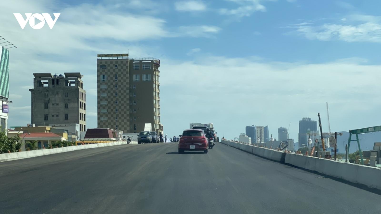 Đà Nẵng cho phép xe lưu thông trên cầu vượt đường 2/9 từ ngày 14/7