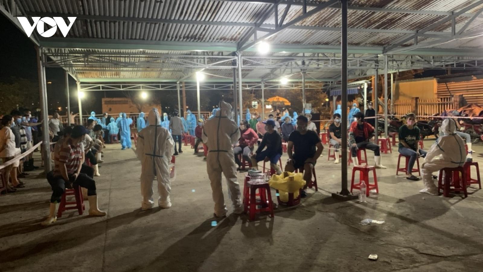 Nhiều ca mắc COVID-19 ở Đà Nẵng phát sinh tại các chợ và cảng cá Thọ Quang