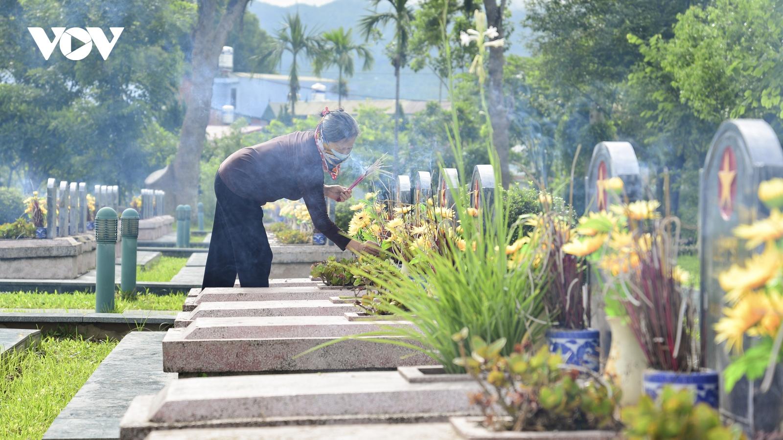 Xúc cảm tháng 7 tri ân tại Điện Biên