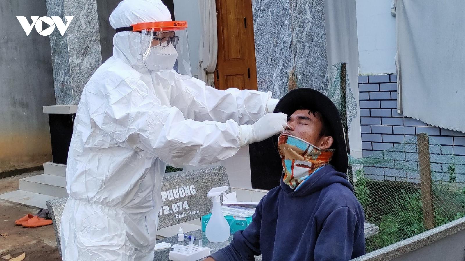 Đắk Lắkghi nhận thêm 13 trường hợp dương tính với SARS-CoV-2