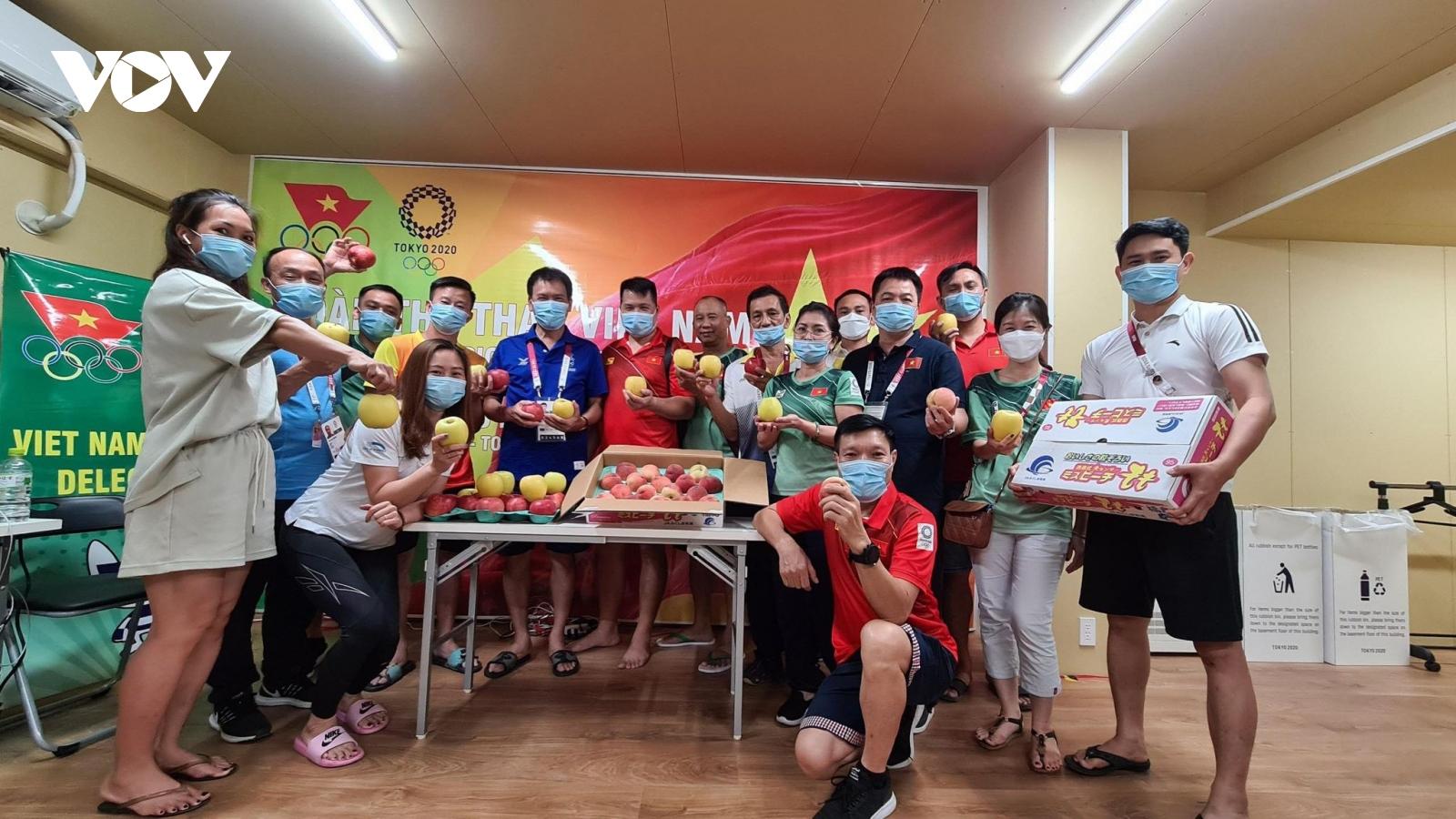 Đoàn VĐV Việt Nam tại Olympic Tokyo thích phim truyền hình