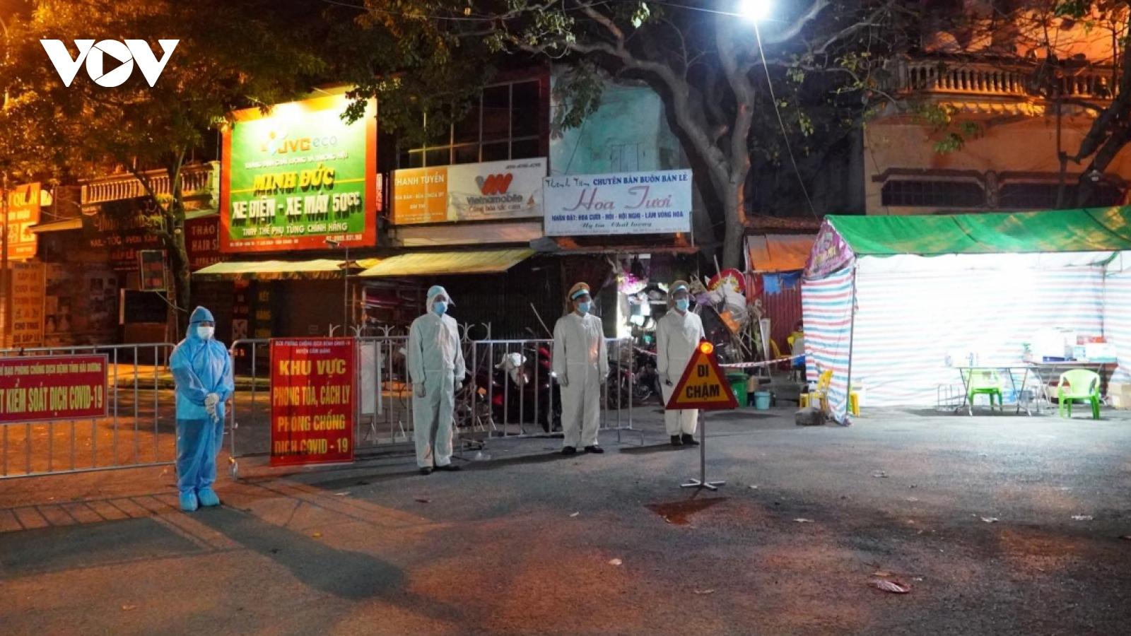Hải Dương: Tạm thời đóng cửa 1 doanh nghiệp do liên quan đến ca F0 ở Hưng Yên