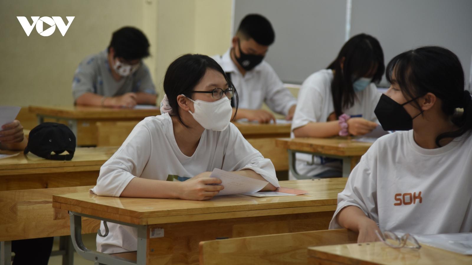Gần 28.000 thí sinh không đến làm thủ tục dự thi tốt nghiệp THPT