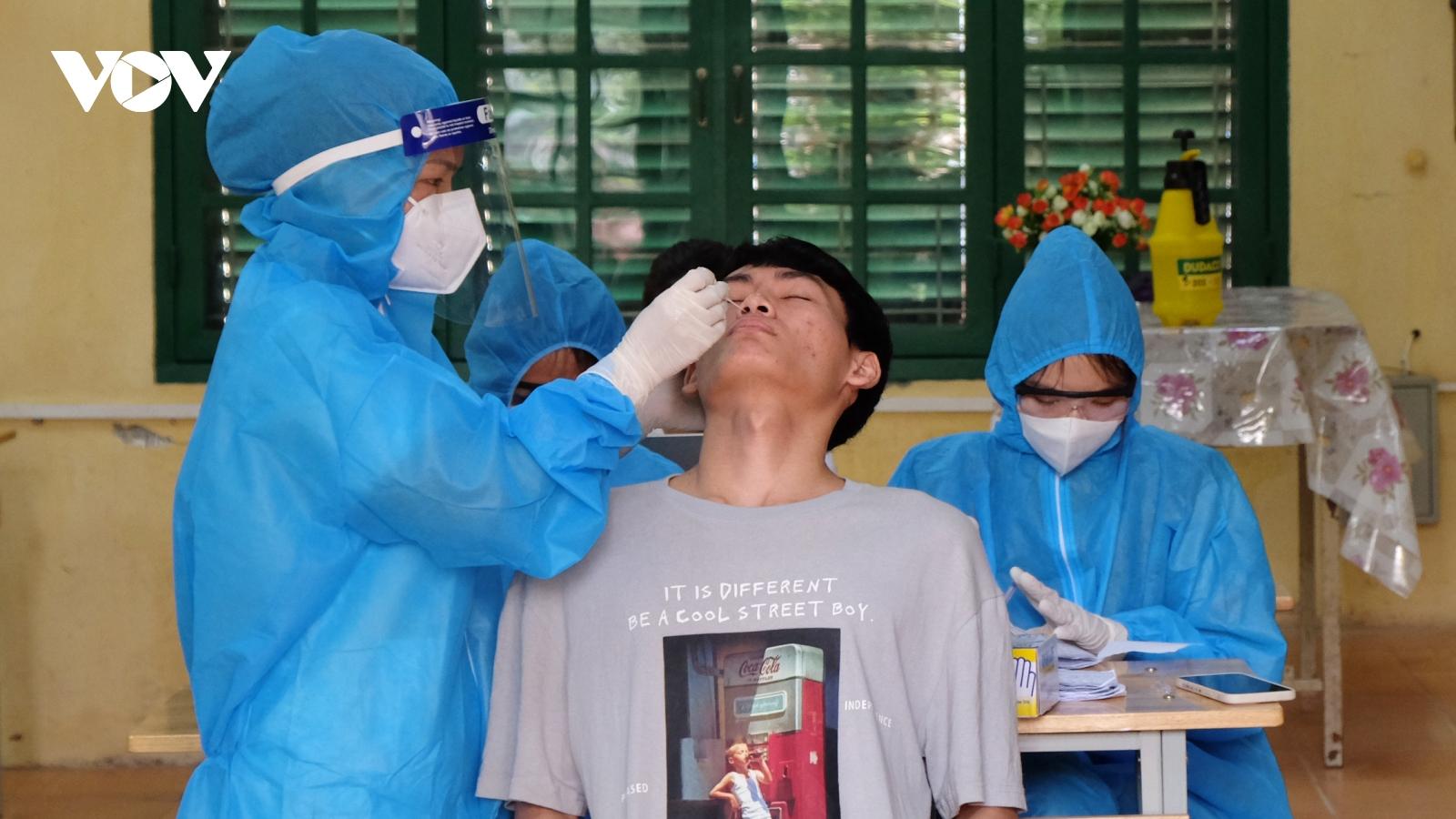 Xét nghiệm 100% thí sinh, cán bộ làm thi tốt nghiệp THPT, Bắc Ninh chỉ còn 2 thí sinh F0