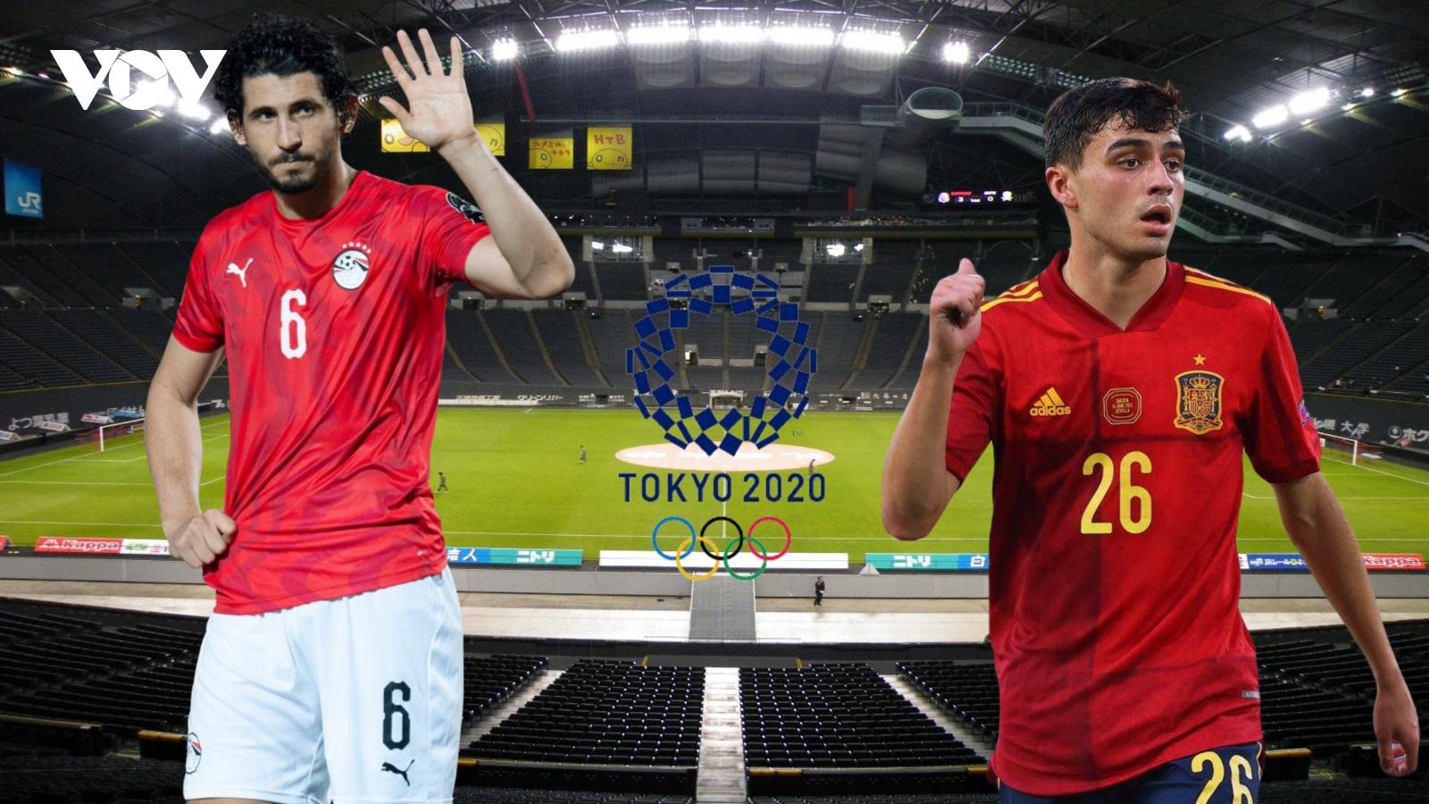 Dự đoán kết quả, đội hình xuất phát trận Olympic Ai Cập - Olympic Tây Ban Nha