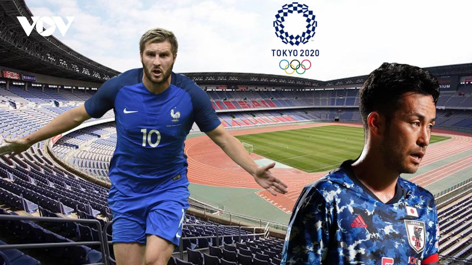 Dự đoán kết quả, đội hình xuất phát trận Olympic Pháp - Olympic Nhật Bản