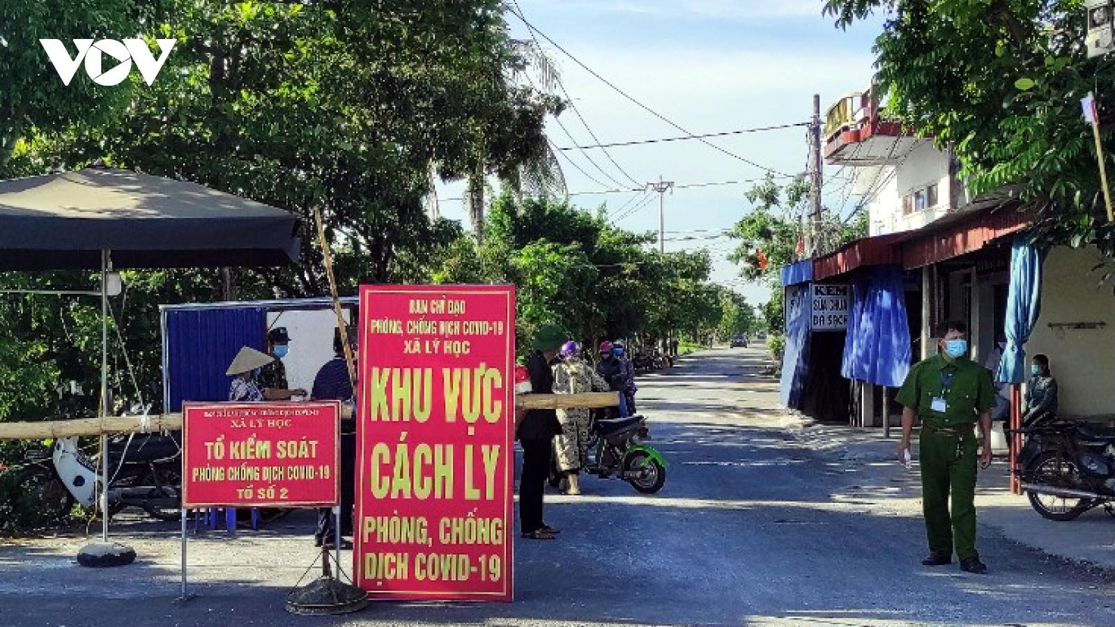 Hải Phòng nới lỏng giãn cách xã hội tại huyện Vĩnh Bảo