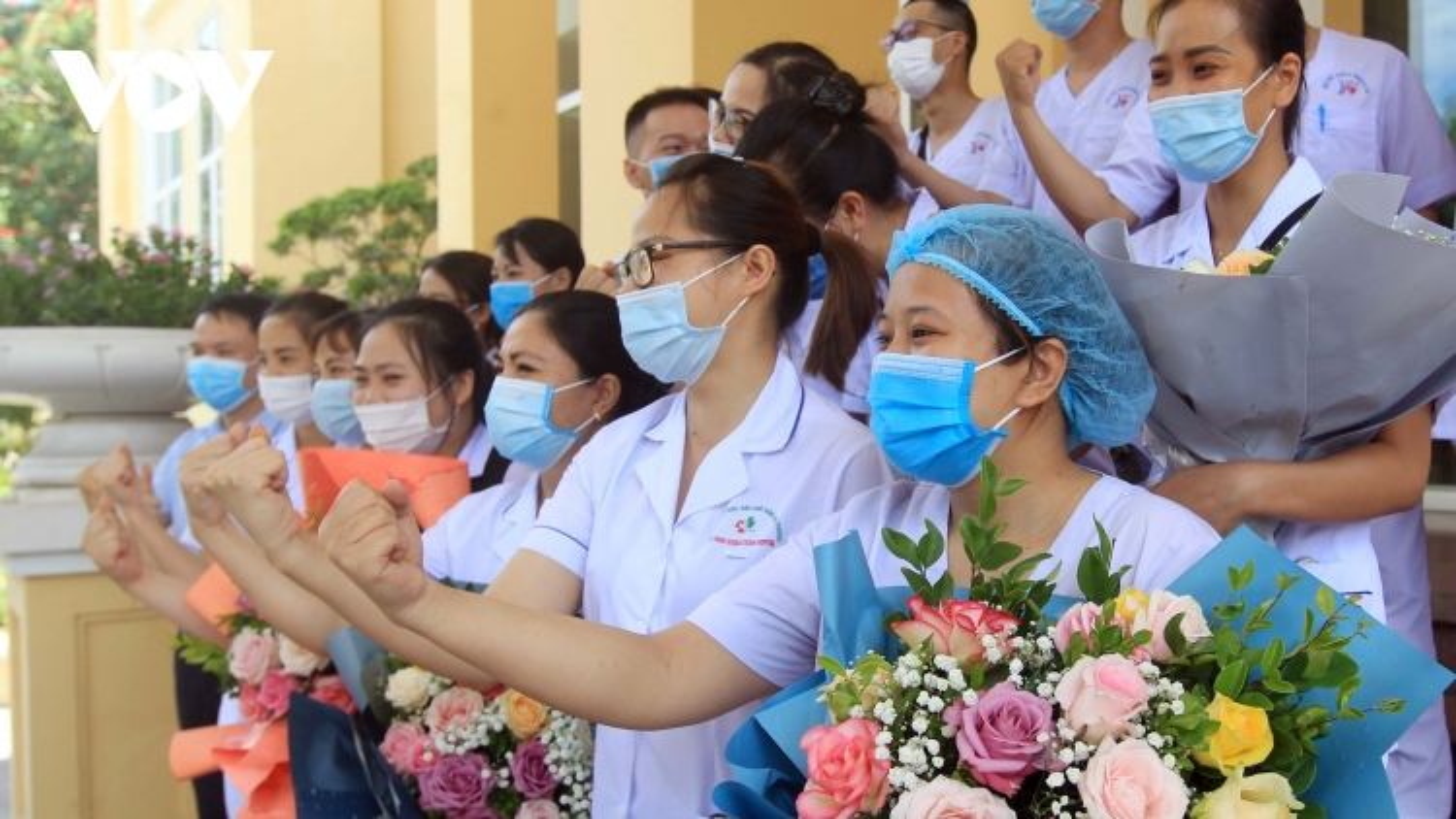 114 bác sĩ, điều dưỡng của Hải Phòng hỗ trợ TP.HCM chống dịch