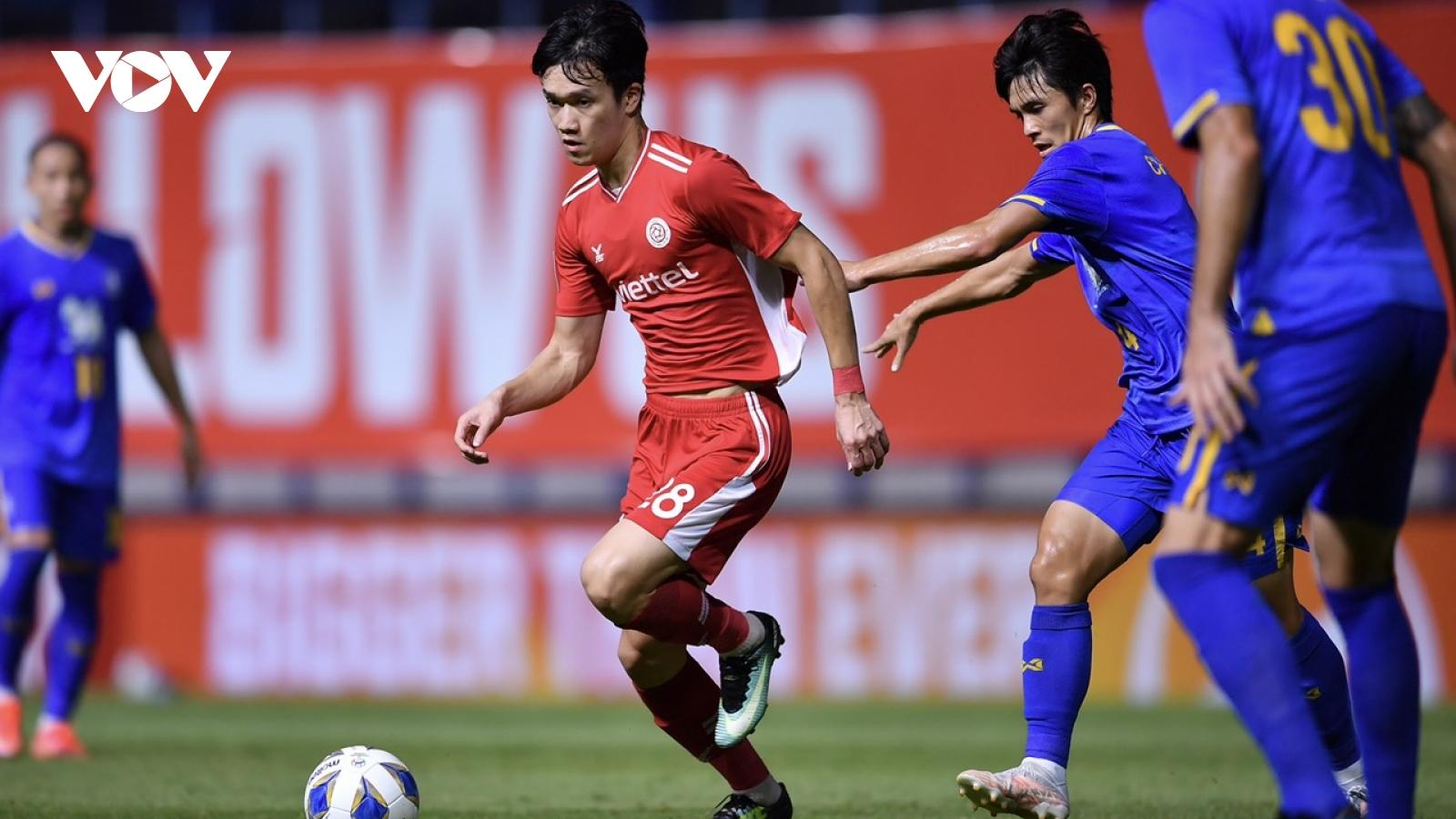 Thua ngược BG Pathum United, Viettel FC dừng bước sớm ở AFC Champions League 2021