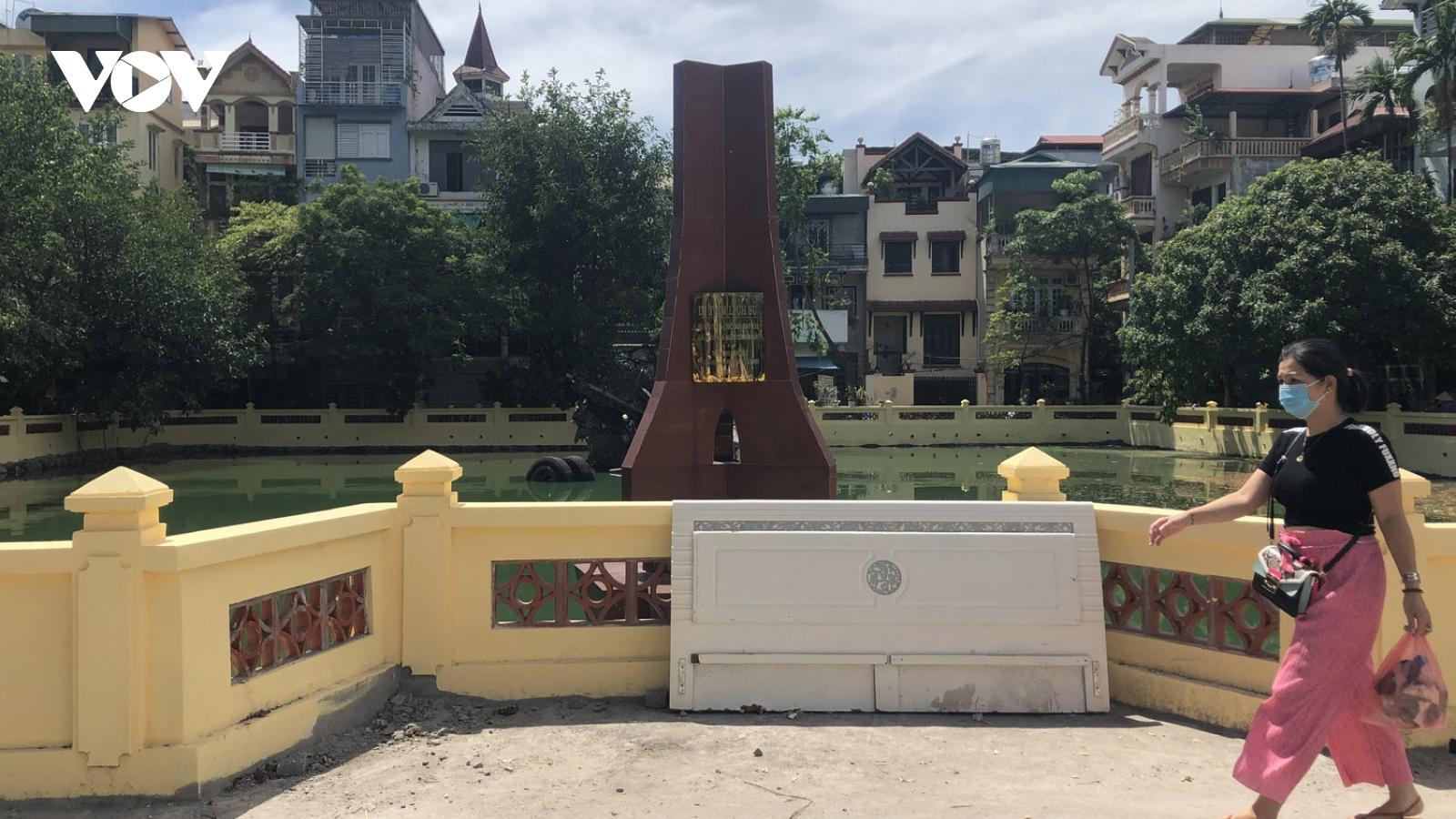 Có gây úng ngập sau khi cải tạo di tích Hồ Hữu Tiệp?