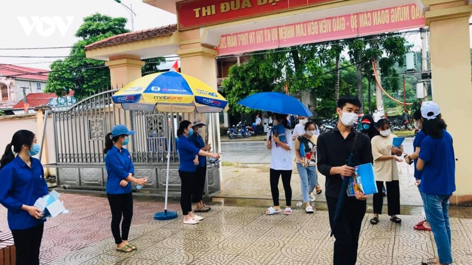 Thông tin về kỳ thi tốt nghiệp THPT năm 2021 tại Điện Biên, Đắk Lắk, Nghệ An, Bình Thuận