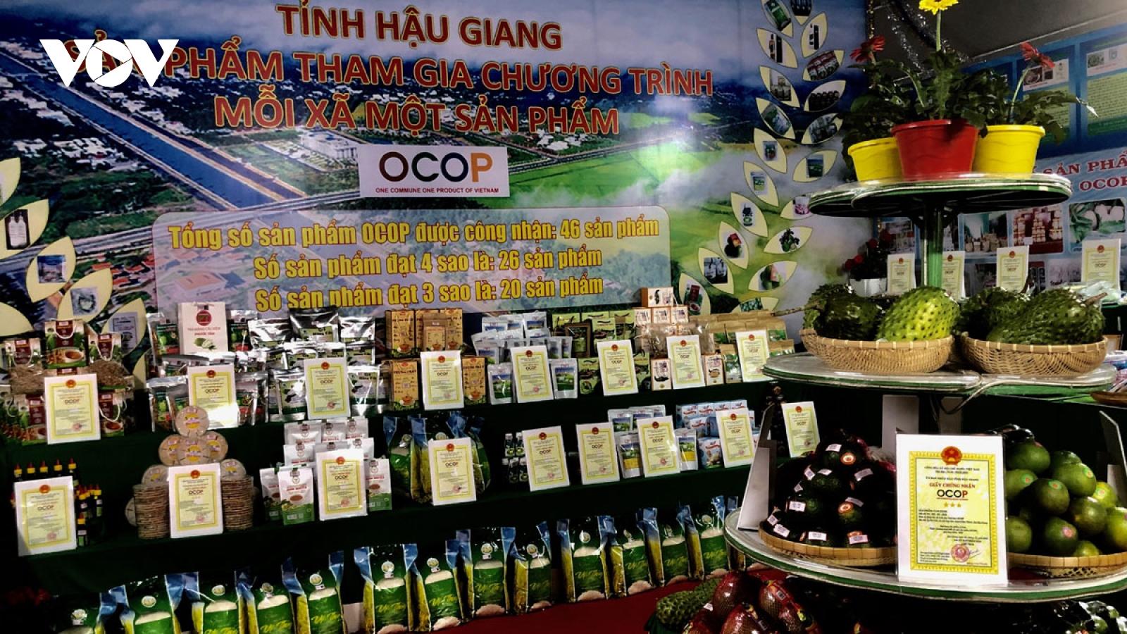 66 sản phẩm của Hậu Giang được chứng nhận đạt chuẩn OCOP
