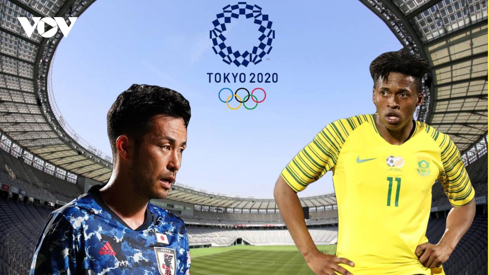 Dự đoán kết quả, đội hình xuất phát trận Olympic Nhật Bản - Olympic Nam Phi