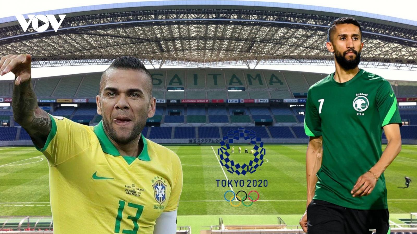 Dự đoán kết quả, đội hình xuất phát trận Olympic Saudi Arabia - Olympic Brazil