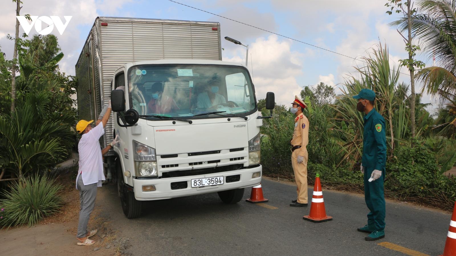 Sóc Trăngchủ trươngtiêm vaccinengừa Covid-19 cho lái xe