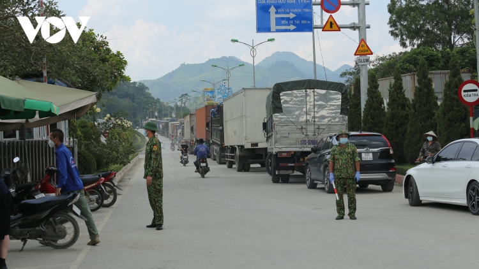 Lạng Sơn siết chặt phòng chống dịch tại các cửa khẩu